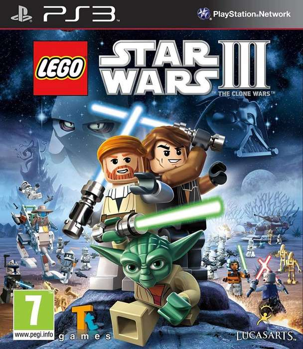 Vendo Lego Star Wars 3 para PS3
