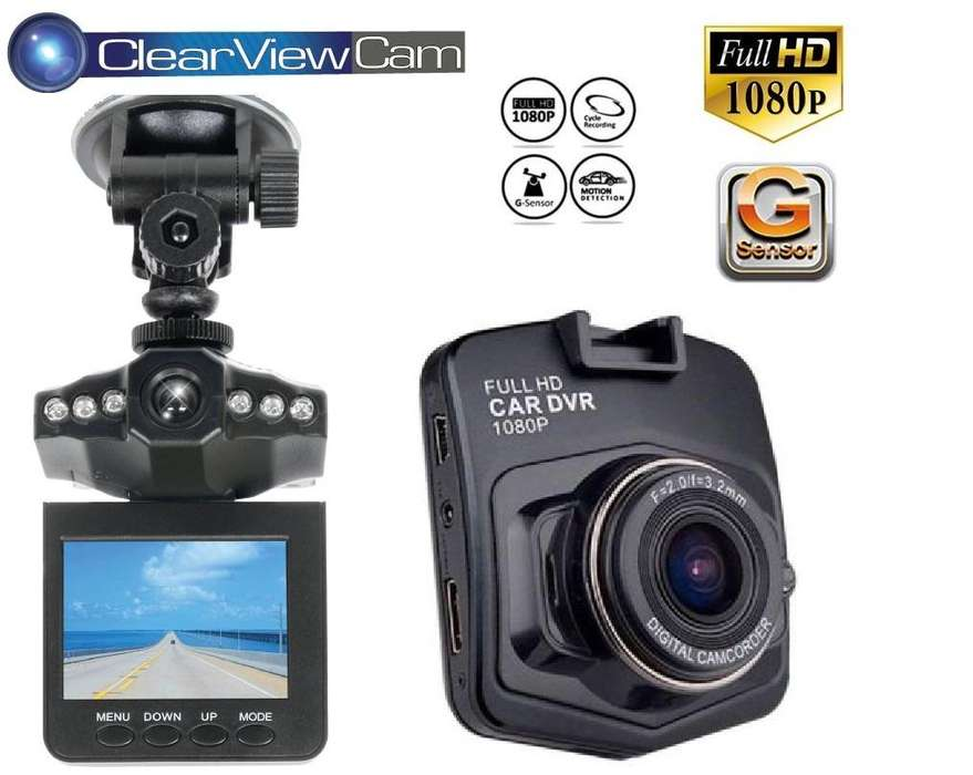 Camara Seguridad Vehiculo Carro FULLHD Graba Accidentes Dashcam Vigilancia