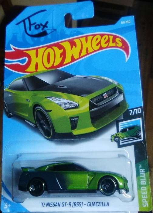 Hot Wheels '17 Nissan GT-R (R35) T Fox