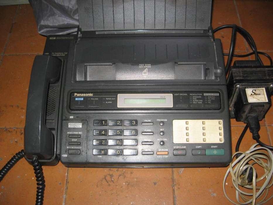 <strong>fax</strong> Y TELEFONO PANASONIC F 130 EN PERFECTO ESTADO.