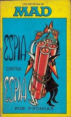 Libro: Espía contra espía, de Antonio Prohias [humor gráfico]