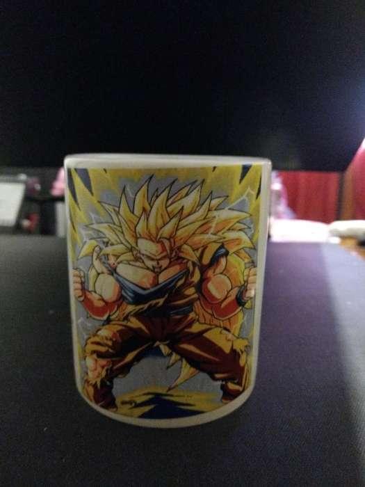 Taza Magica Dragon Ball Z