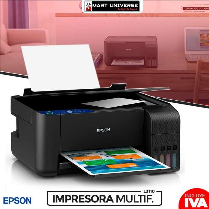 Impresora Epson L3110 Multifuncion Sistema De Tinta Original