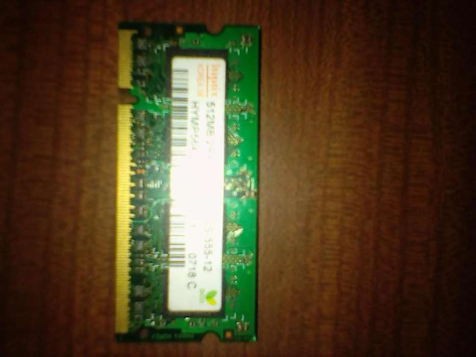 RAM DDR2 SODIM 1 Giga (Net/Notebooks) 3412178779