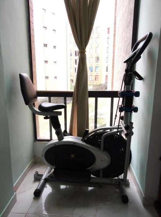 Bicicleta Elíptica Multiproposito
