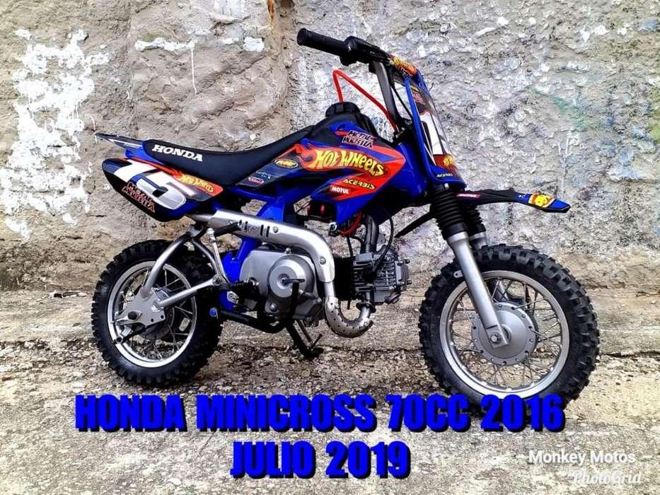 Honda Minicross 70cc 2016