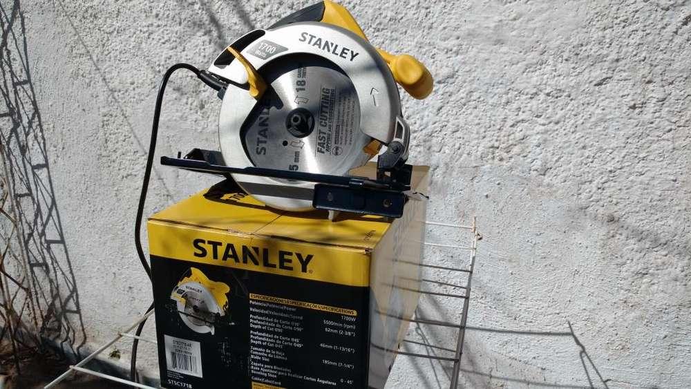 Sierra Circular Stanley 185mm 1700w Stsc1718 1 Disco 3 Usos!