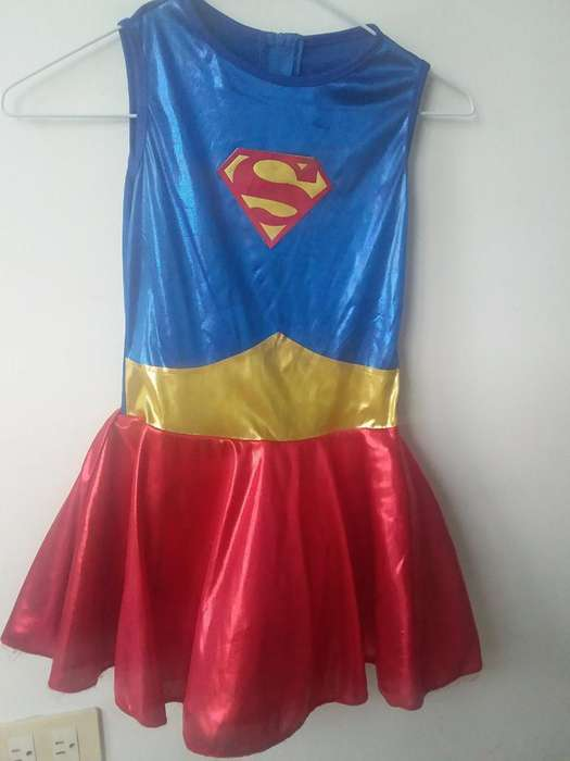 Disfraz Talla 8 Super Girl