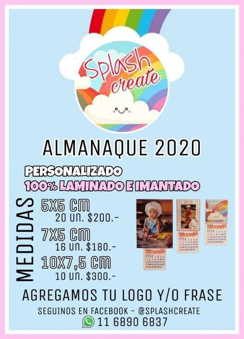 Almanaque 2020 Personalizado