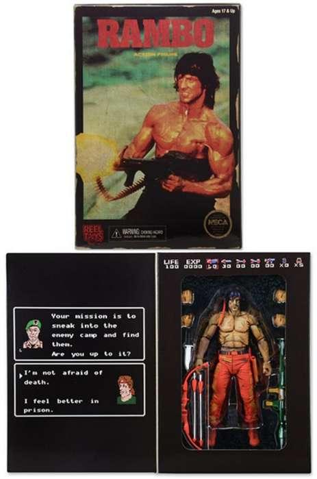 Rambo Figura Versión Videojuego Neca