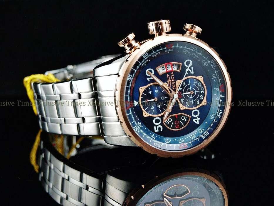 Reloj Invicta IN17203 Aviador brújula Nuevo
