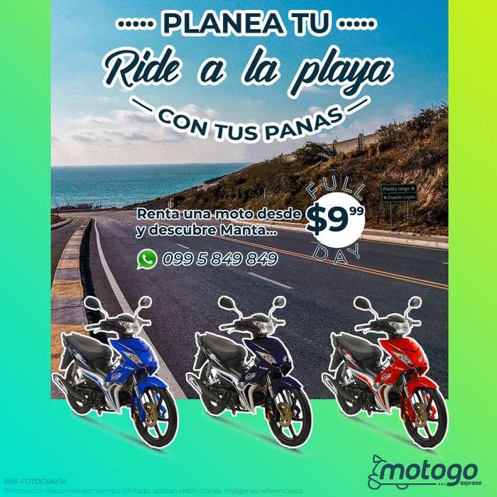 Alquiler de motos por día PROMOCION!! 10 12 horas
