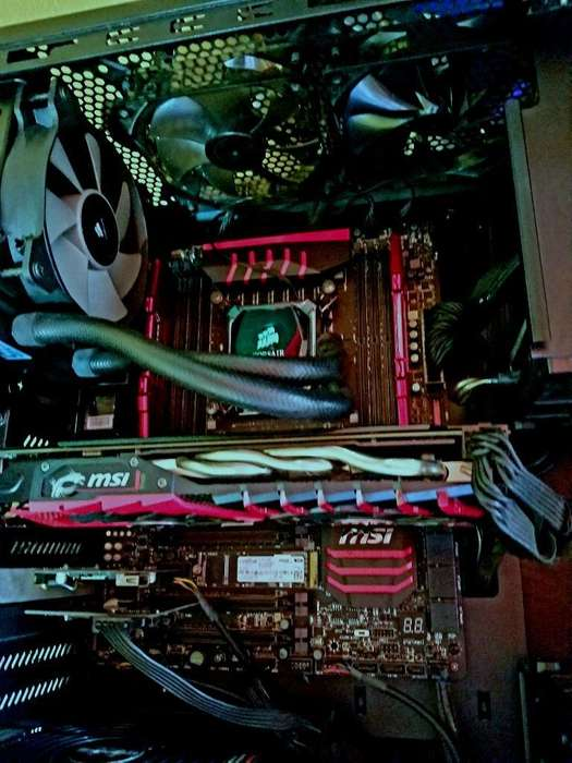 PC Workstation GAMER con Intel XEON 20 Núcleos reales, 32GB de RAM DDR4, 1000GB SSD M2, 8GB video