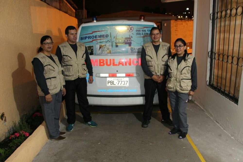 Servicio de Ambulancia - Medico