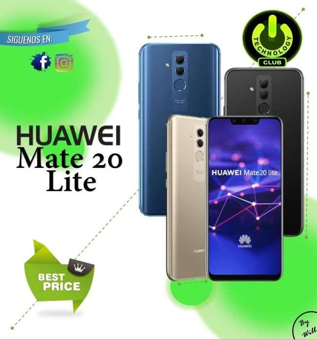 Huawei Mate 20 lite 64 Gb 4 <strong>camara</strong>s / Tienda física Centro de Trujillo / Celulares sellados Garantia 12 Meses