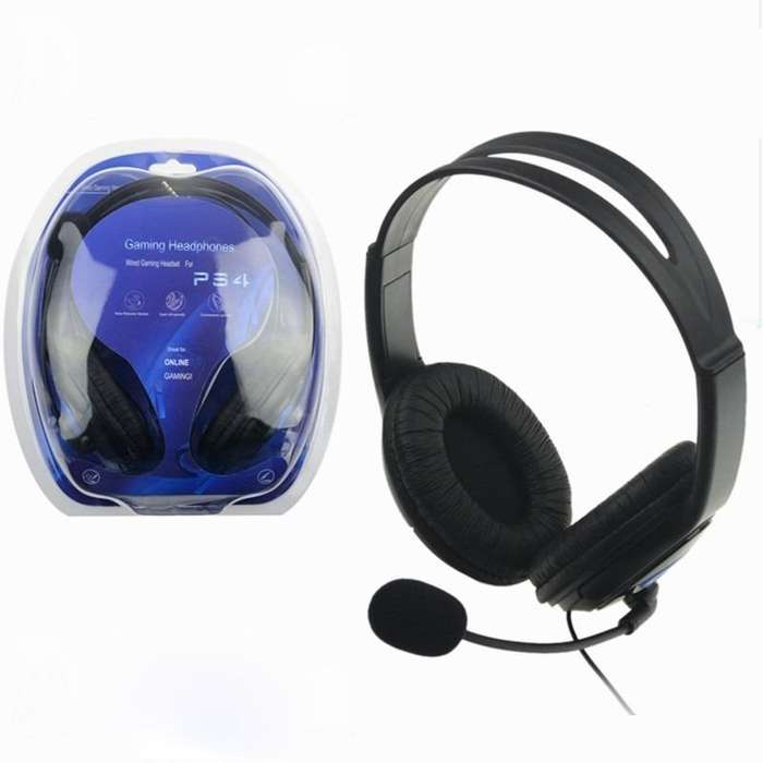 599 Auriculares POTENTE GAMER Para Ps4 playstation 4 xbox one pc tablet