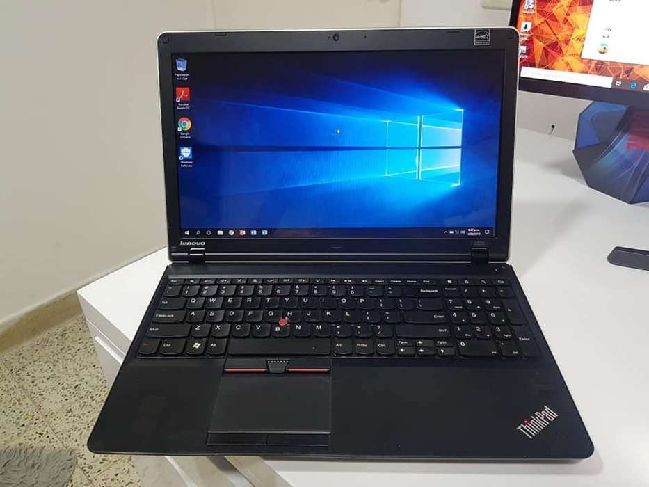 PORTATIL LENOVO THINKPAD i5 2da To 2.90GHZ, 500GB DISCO, 4GB RAM, PANTALLA 15.6, LECTOR HUELLA