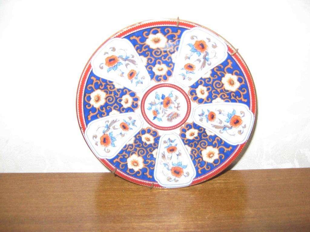 Plato colgante porcelana y tacita 300