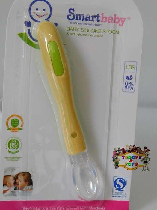 Cuchara con Sensor Térmico para Bebés