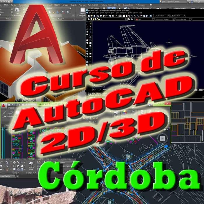 Clases AutoCAD 2D y 3D Córdoba