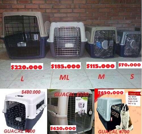 Guacales de Transporte o jaulas para Tus Mascotas Tamaño S, M, Ml, L, XL Y XXL en Venta desde 75.000.