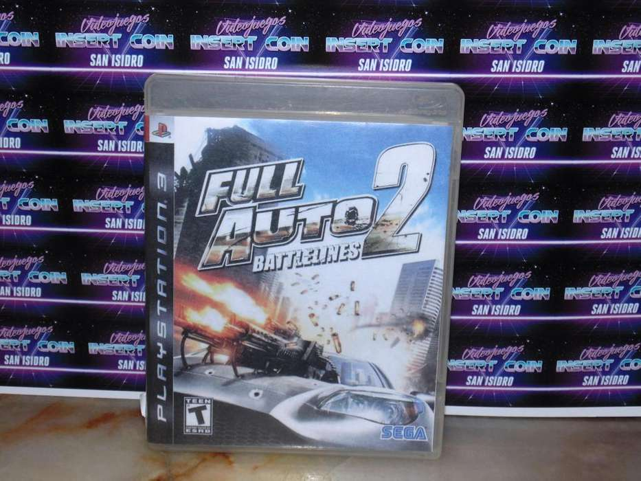 Full Auto 2 PS3 Juego Play Station 3