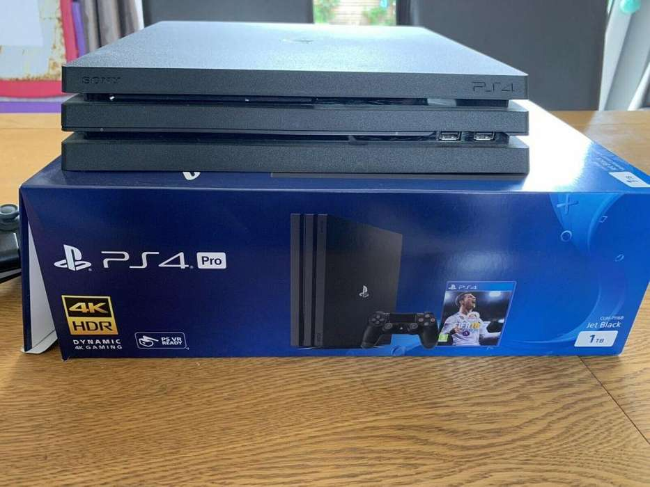 JUEGO PS4 CONSOLA PLAYSTATION 4 PRO 4K DE 1 TERABYTE