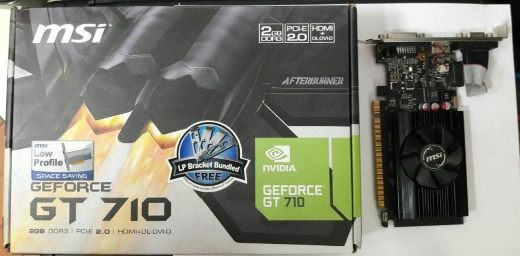 tarjetas de video DDR3 2G -GT 710