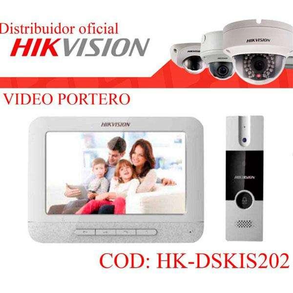 CITOFONO <strong>video</strong> PORTERO HD CON PANTALLA INTERCOMUNICADOR <strong>video</strong> IP HIKVISION
