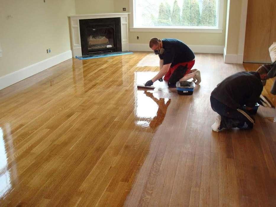 Pulido, plastificado y arreglo de <strong>pisos</strong> de madera