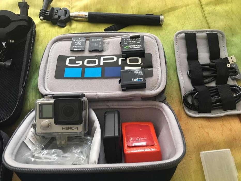 Go Pro Hero 4 <strong>accesorios</strong> baterias estuches