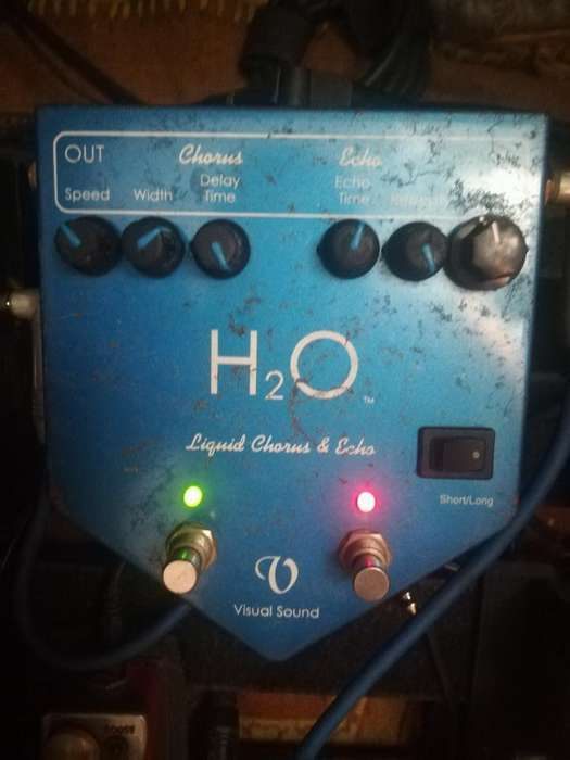 Visual Sound Chorus H20 Pedal Guitarra