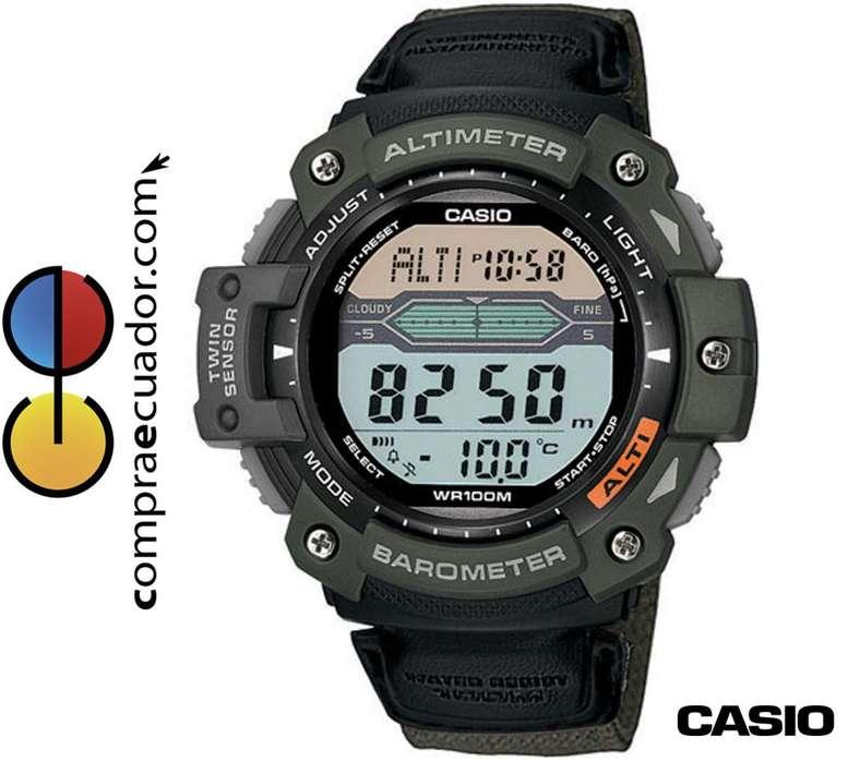 Reloj <strong>casio</strong> SGW300HB 3AV Altímetro Barómetro Termómetro