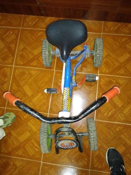 Vendo Cuatriciclo a Pedal
