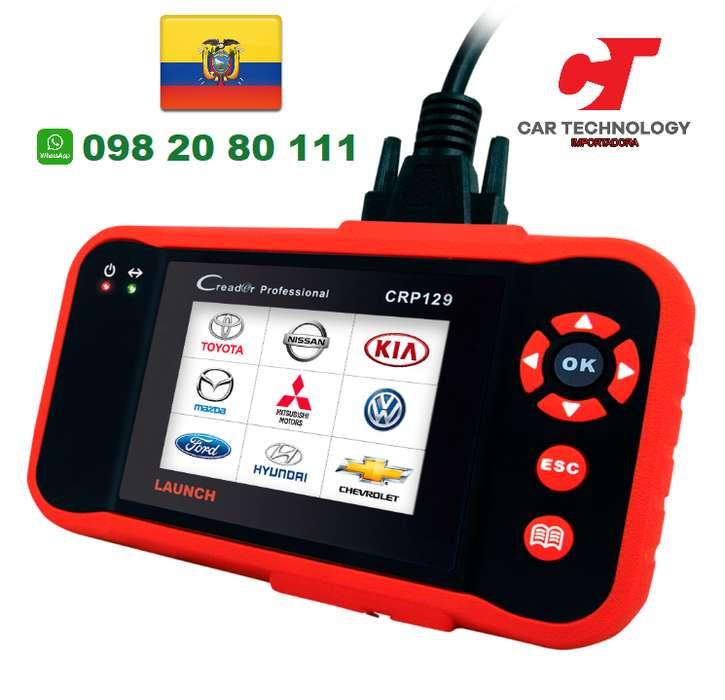 Escaner Automotriz Launch Creader X431 CR8 VIII Scanner CRP129 OBD2 Scaner Auto
