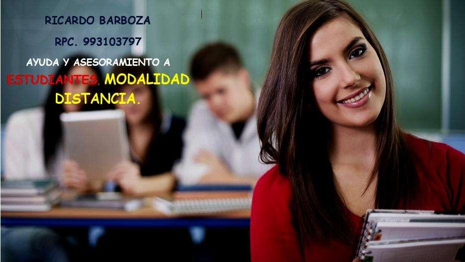 Universitario: Modalidad Distancia