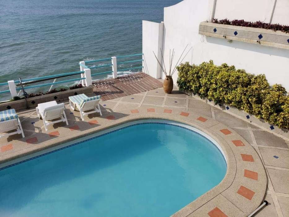 Venta C104 Casa en Ballenita Vista al mar 1.100 Mts. 5 dormitorios Península de Santa Elena Playa