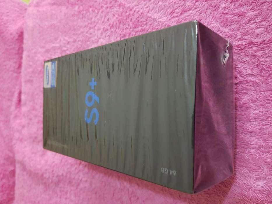 SAMSUNG S9 PLUS 128 GB, NUEVOS, SELLADOS 1 AÑO DE GARANTÍA Y OTROS