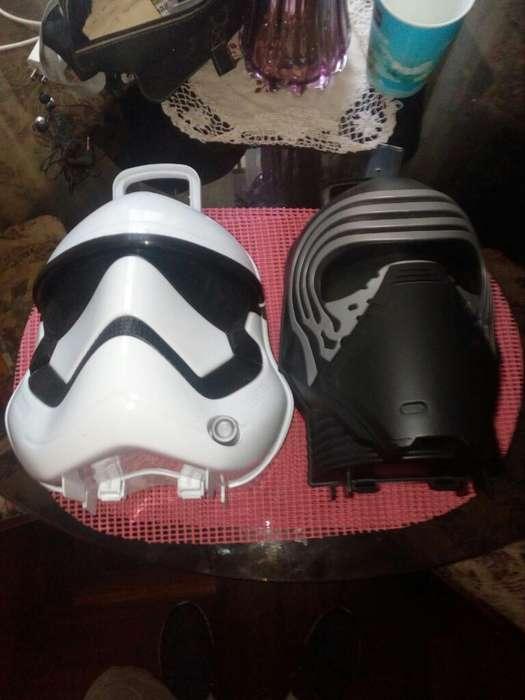 Star Wars Kylon Ren Y Stormtrooper cada uno