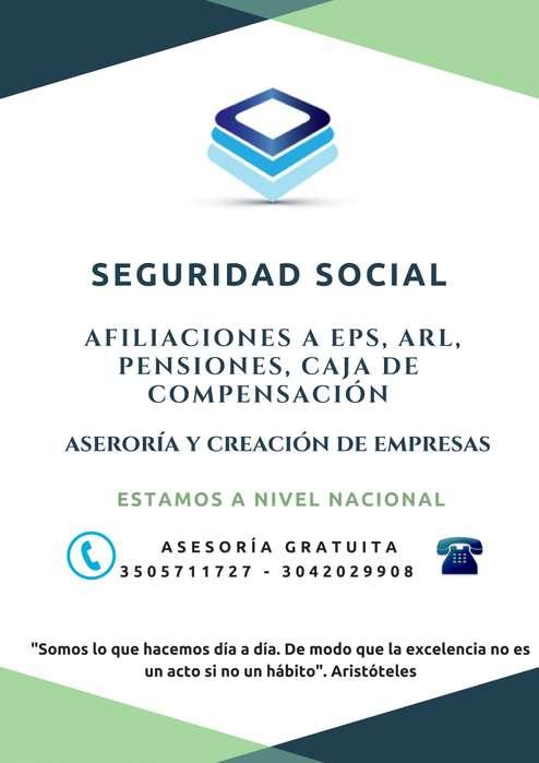 Independientes - Contratistas - Empleadas servicio doméstico. AFILIACIONES SEGURIDAD SOCIAL