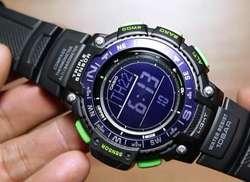 Reloj Casio SGW10002B triple sensor Camping