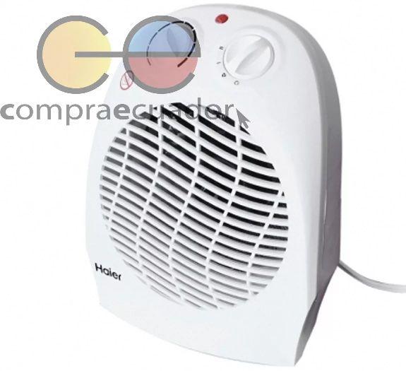 Haier Calefactor Y Ventilador 3 Velocidades Sistema Segurida