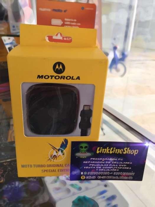 Cargador Turbo Power Motorola