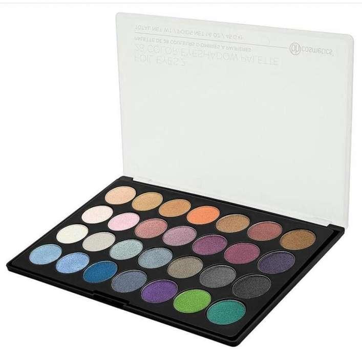 ORIGINAL Paleta de Sombras Bh Cosmetics Foil Eyes 2