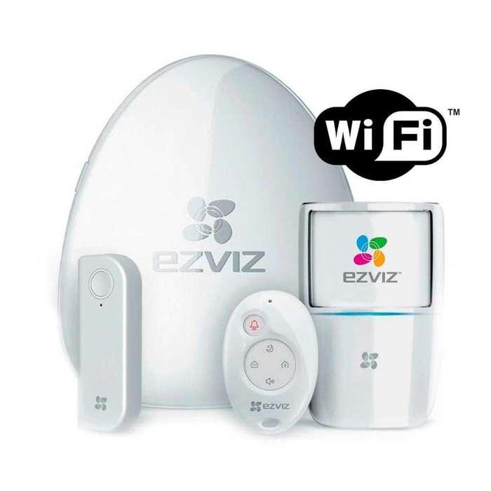 Kit Alarma De Seguridad Para Hogar Inalambrica EZVIZ