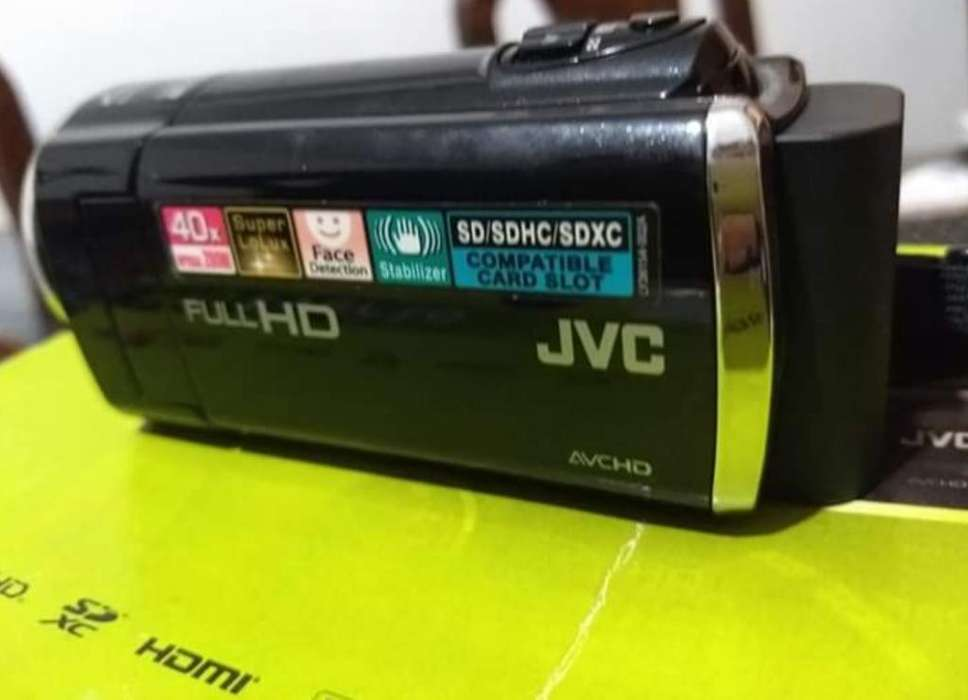 <strong>videocamara</strong> Jvc Everio Full Hd