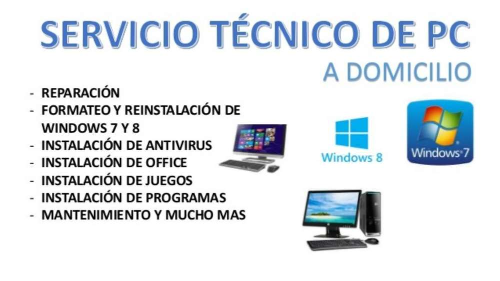 Servicio Técnico Laptop Pc, Ps3 Ps4
