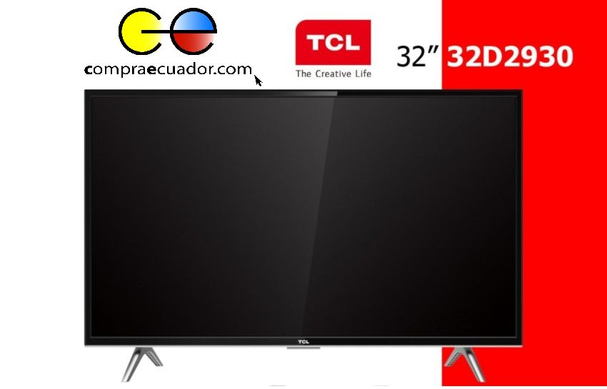 TCL Televisor LED Smart TV 32 Full HD Pulgadas Sistema Linux