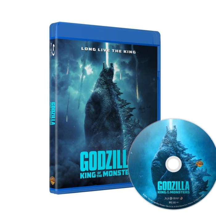 Godzilla King Of The Monsters - Bluray Latino/ingles Subt Es