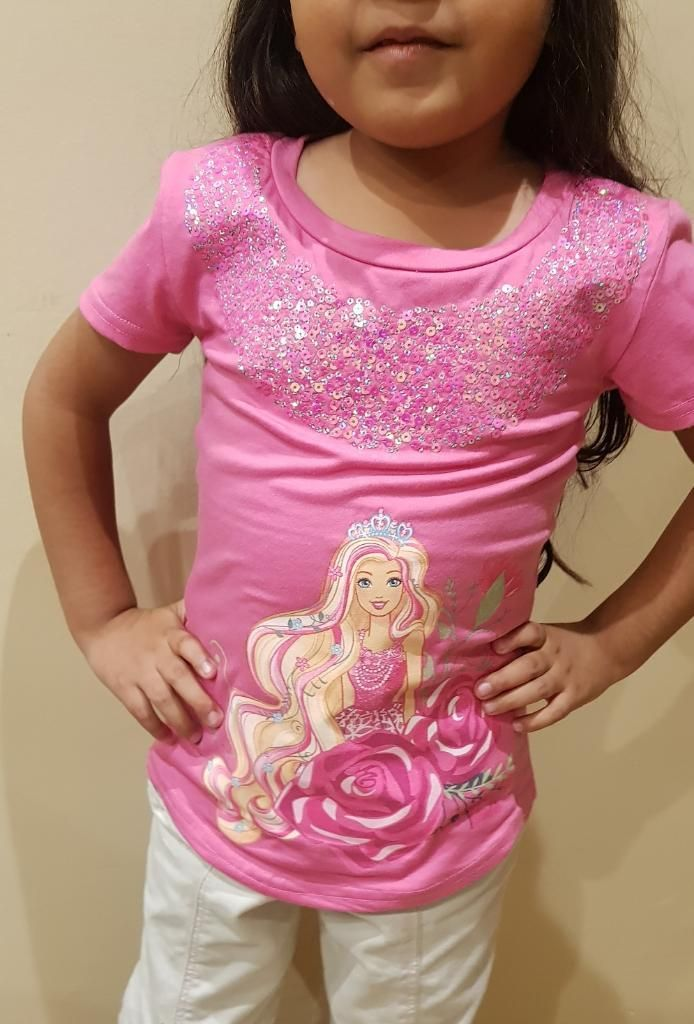 Polo Barbie en Talla 6
